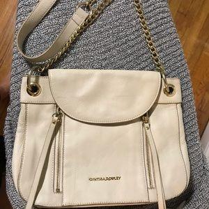 Cynthia Rowley Leather Chain Strap Cross Body Bag
